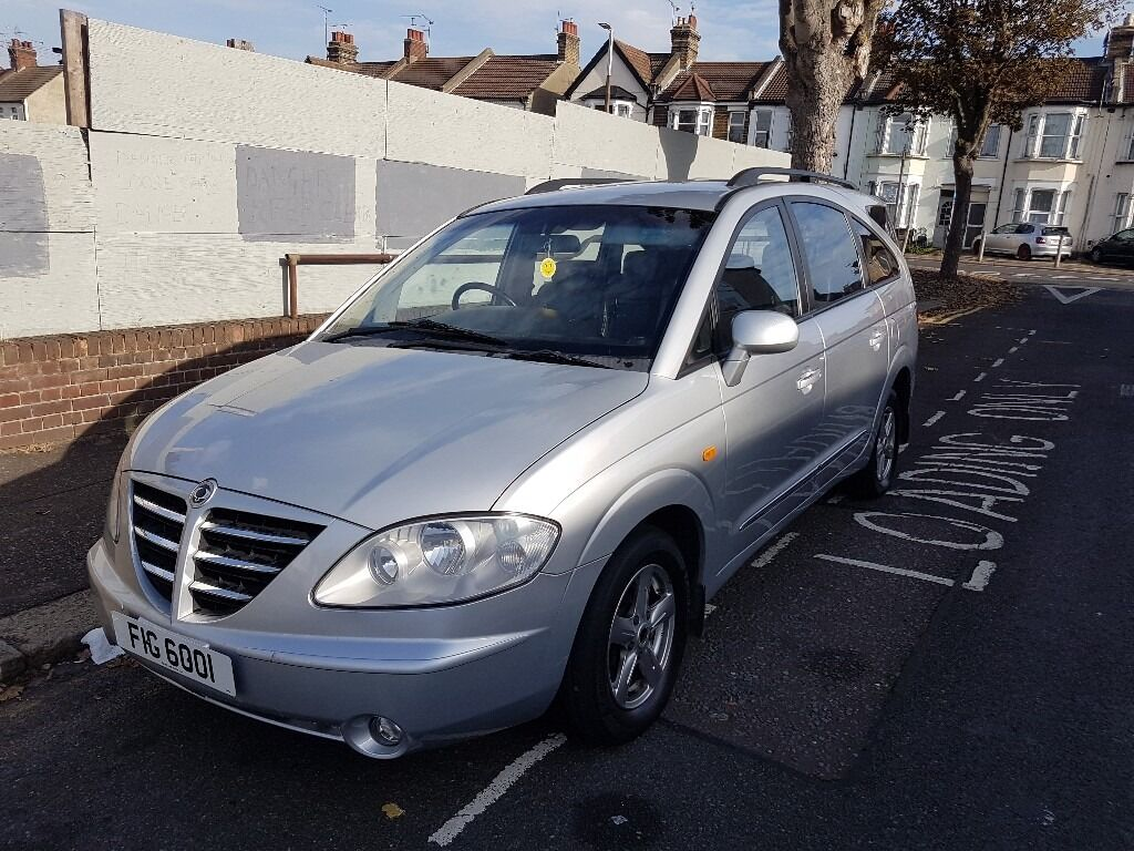 Ssangyong RODIUS Diesel 7 SEATER ONLY 58K MILES (verified) FULLY LOADED