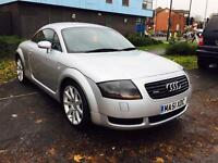 AUDI TT 1.8 T QUATTRO (225) LEATHER / 12 MONTHS MOT