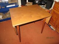 Dinette Drop Leaf/Folding Wooden Table