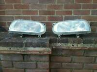 Vw golf mark 3 head lights