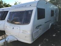 Avondale argente 640/6 2006 6 berth touring caravan