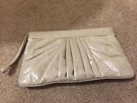 Coast White Pearl clutch bag