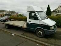 iveco recovery truck alloy body long bed