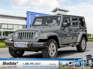 2014 Jeep Wrangler Unlimited Sahara Safety and Re-Conditioned