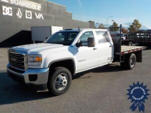 2015 GMC Sierra 3500HD WT 9 Ft Flat Deck Truck, 6.0L V8 Gas