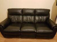 2 recliner sofas 3+2 seater