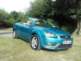 Focus CC3 Convertible 2.0 petrol with 5 new Michelin wheels & tyres