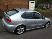 Stunning!! Bargain!! Reduced to Sell!! £2589ono May Part Ex Seat Leon Cupra 20v Turbo FSSH HPI Clear