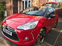 2011 Citroen DS3 1.6 VTI ( 120bhp ) DStyle Plus full service 12 month mot red/black roof