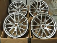 22'' Silver Excile CLS Style ALLOY WHEELS ALLOYS/ RIMS (4 STAGGERED) FITS X5 E70 ,X6 E71