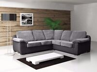 LEATHER **or** FABRIC...Brand new large Amy sofa's, available as a 3+2 set or corner suite: UK DEL
