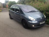 Citroen Picasso Spares or Repairs 9 Months Mot, Runs Well