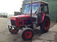 Tractor - Zetor 4911 ** 1 owner- 1350Hrs ** 1978