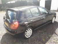TRADE IN TO CLEAR ALMERA DIESEL LONG MOT £495 DRIVES GREAT