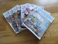 Country Homes & Interiors Magazine / Country Living Back Issues x 16