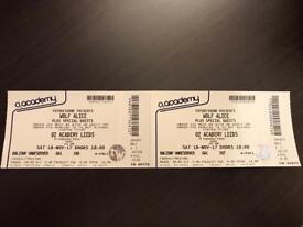 Wolf Alice tickets (2) - Leeds 18th November 2017