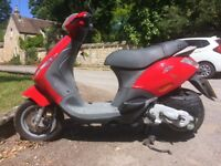 404 miles 100cc new mot ,moped piaggio zip. 2 keys .not Peugeot Yamaha