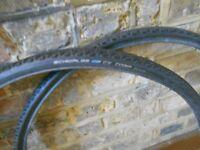 2 x Schwalbe CX Comp Tyres