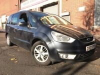Ford Galaxy 2007 2.0 TDCi Ghia 5 door 1 OWNER, FSH, 6 MONTHS WARRANTY, NEW SHAPE, 7 SEATER, BARGAIN