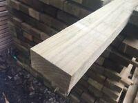 Timber rails 4x2 @ 3.6m Pressure Treated green