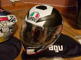 1 x Dainese Leather Jacket (Size M / 52), 2 x AGV helmets (Size S) plus many other extras