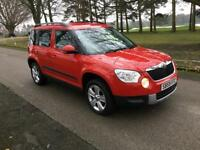 2010 59 PLATE SKODA YETI 2.0 TDI SE CR 110 - 36,000 GENUINE LOW MILES