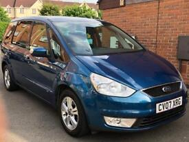 2007 FORD GALAXY 1.8 DIESEL+LADY OWNER+LOW MILEAGE+FULL YEAR MOT+GOOD OFFERS WELCOME