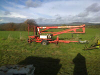 Niftylift 120, Cherry Picker, new pipes, tested, very good condition