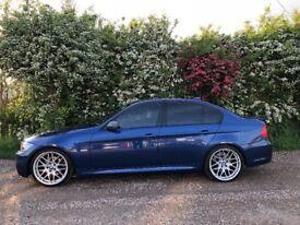 """E90 BMW 330i M Sport, 19"""" CSL alloys"""