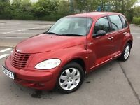 CONFIRMED PRIZED PT CRUISER TOURING 2-2CRD MERC DIESEL ENGINED 72K, STUNNING DRIVE £995, P/EX PCARDS