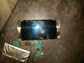 S7 edge spare parts screen cracked to much to repair