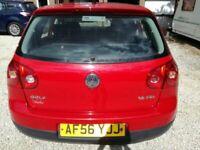 Volkswagen, GOLF, Hatchback, 2006, Manual, 1598 (cc), 5 doors
