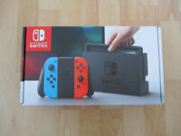 Nintendo Switch Brand New & Sealed
