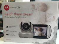 Motorola baby monitor as new boxed MBP36S