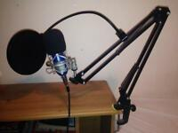 Microphone Recording Equipment All Included
