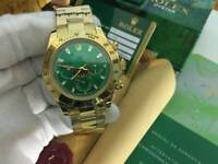 Rolex Oyster Daytona Hulk Green Dial