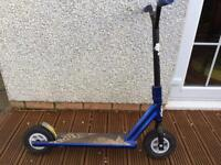 Blue royal dirt scooter