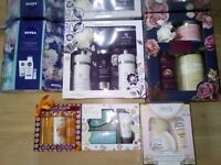 6 x Boxes of Shower, Hand & Body Lotion Sets Job Lot £10