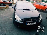 Selling my Peugeot 307