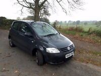 2010 VW Fox. 1.2 petrol. Low mileage. Cheap to run.