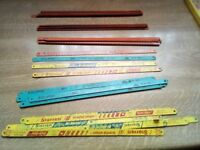 hacksaw blades x 46 SANDFLEX BACHO/STARRET/ECLIPSE