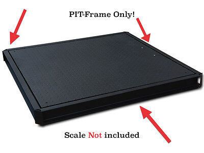 Pit-frame For Floor Scales Pallet Industrial 60 X 60 5x5