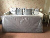 Two single IKEA Sultan mattresses