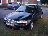 Rover 214i very low mileage plus history