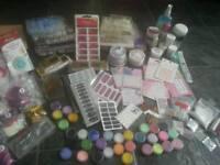 Acrylic nail stuff