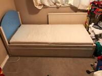 Boys single bed & matching draws
