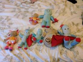 In the night garden teddies