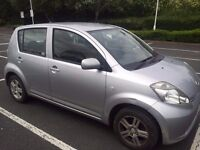 Daihatsu Sirion S 2007, Tax £30, MOT Exp 20 Dec 2017, Millage 51,000, Manual 1L Petrol, ONO