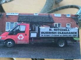 rubbish clearance starting from £35 registered waste carrier