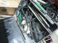 Hitachi hammer drill with lots of bits works great